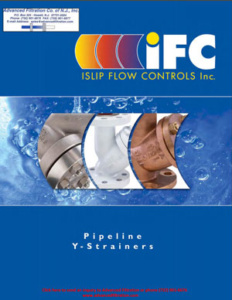 ifc-pipeline-y-strainers-catalog-cover